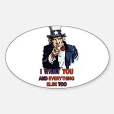 Bastard Uncle Sam Decal