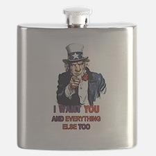 Bastard Uncle Sam Flask