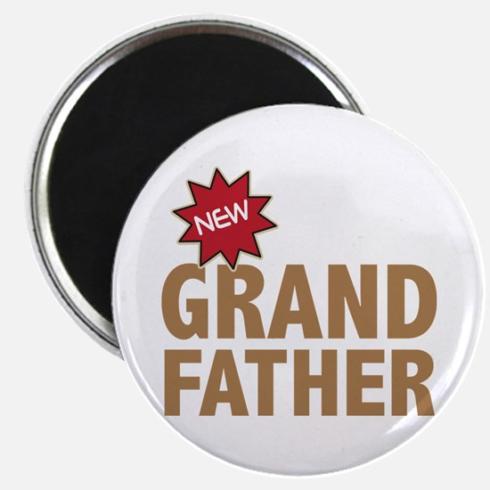 "New Grandfather Grandchild Family 2.25"" Magnet (10"