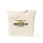 Firefighter RockStar Tote Bag