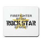 Firefighter RockStar Mousepad