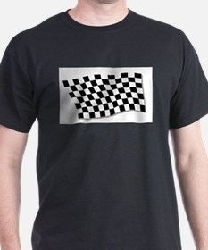 Chequered Flag Fluttering T-Shirt