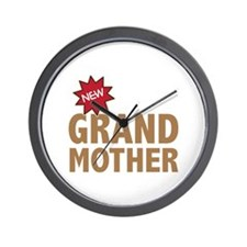 New GrandMother GrandChild Family Wall Clock