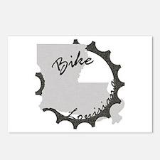 Bike Louisiana Postcards (Package of 8)