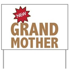 New GrandMother GrandChild Family Yard Sign