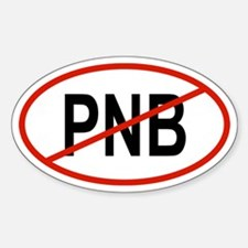 PNB Oval Decal