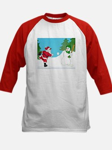 Santa / Snowman Kid's Jersey