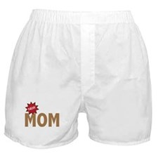 New Mom Mother First Time Boxer Shorts