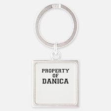 Property of DANICA Keychains