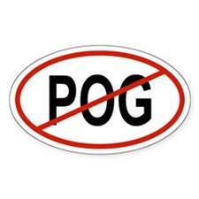 POG Oval Decal