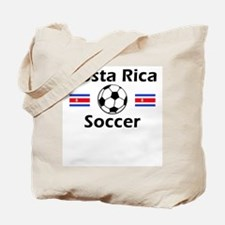 Costa Rica Soccer Tote Bag