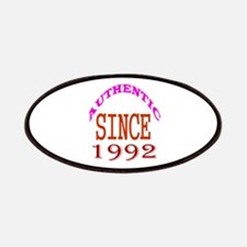 Authentic Since 1992 Birthday Designs Patch