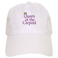 QUEEN OF THE CARPOOL Baseball Cap