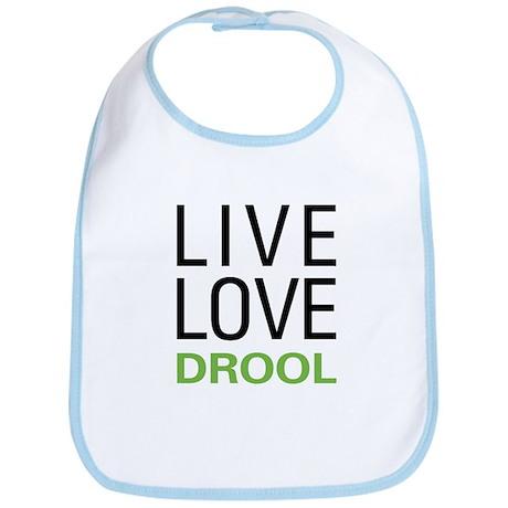 Live Love Drool Bib