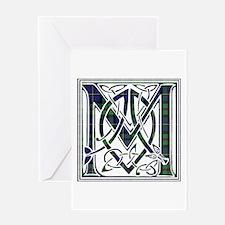 Monogram - MacLeod Greeting Card