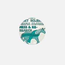 Unicorns Support Scleroderma Awareness Mini Button