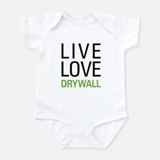 Live Love Drywall Infant Bodysuit