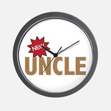 New Uncle Nephew Niece Family Wall Clock