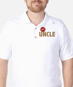 New Uncle Nephew Niece Family Golf Shirt