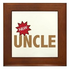New Uncle Nephew Niece Family Framed Tile