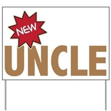 New Uncle Nephew Niece Family Yard Sign