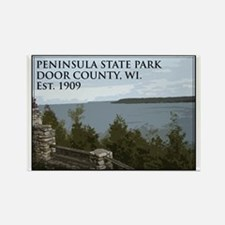Peninsula State Park Rectangle Magnet