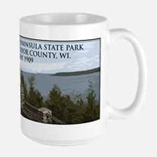 Peninsula State Park Large Mug
