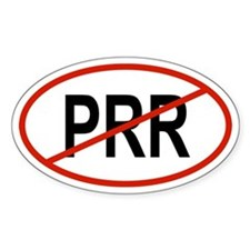PRR Oval Decal