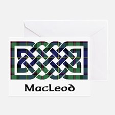 Knot - MacLeod Greeting Card