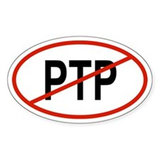 PTP Oval Decal