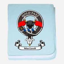 Badge - MacLeod baby blanket