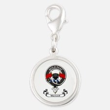 Badge - MacLeod Silver Round Charm