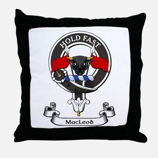 Badge - MacLeod Throw Pillow