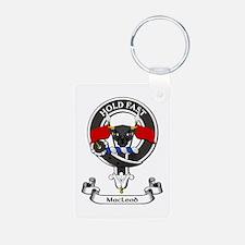 Badge - MacLeod Aluminum Photo Keychain