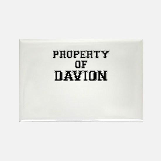Property of DAVION Magnets