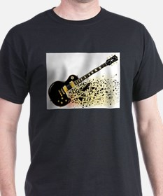 Shattering Blues Guitar T-Shirt
