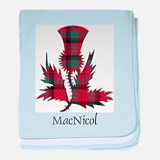 Thistle - MacNicol baby blanket