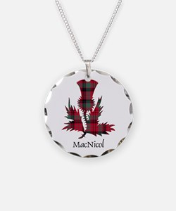 Thistle - MacNicol Necklace Circle Charm