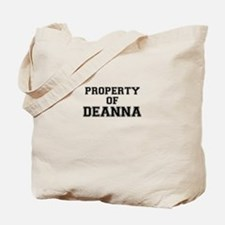 Property of DEANNA Tote Bag