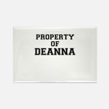 Property of DEANNA Magnets