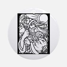 Wizard 2 Ornament (Round)