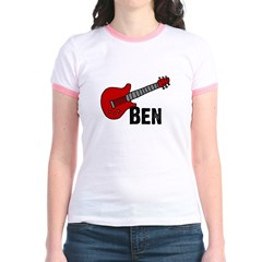 Guitar - Ben Jr. Ringer T-Shirt