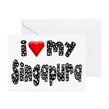 Singapura Greeting Cards (Pk of 10)