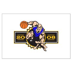 Basketball Player 2008 Posters