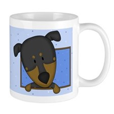 Cartoon Doberman Pinscher Mug