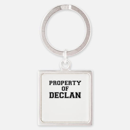 Property of DECLAN Keychains