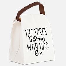 Unique Force Canvas Lunch Bag
