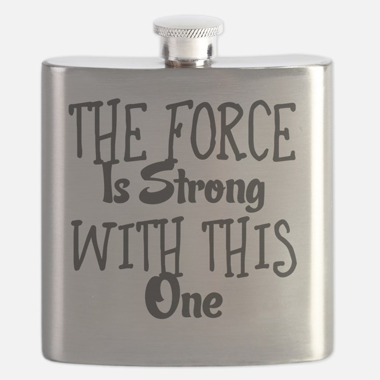 Cute The force is strong with this one Flask