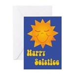 Solstice Sun Greeting Card