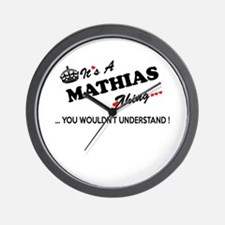 MATHIAS thing, you wouldn't understand Wall Clock